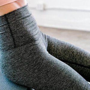 DYI High Rise Herringbone Legging Tights {II34}